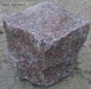 Брусчатка Токовская колотая 7х7х7