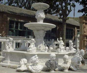 Гранитные фонтаны