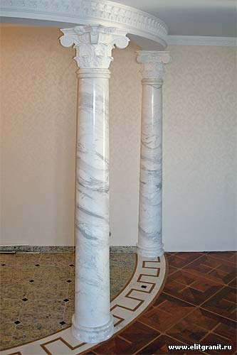 Колонны из натурального камня Донецк